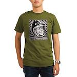 Yuri Gagarin Organic Men's T-Shirt (dark)