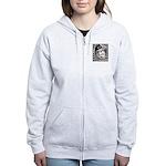 Yuri Gagarin Women's Zip Hoodie