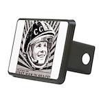 Yuri Gagarin Rectangular Hitch Cover