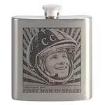 Yuri Gagarin Flask