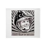 Yuri Gagarin Throw Blanket