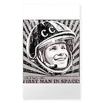 Yuri Gagarin Sticker (Rectangle)
