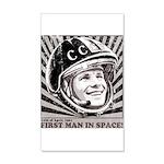 Yuri Gagarin 20x12 Wall Decal