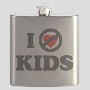 I Dont Heart kids Flask