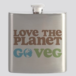 Love the Planet Go Veg Flask