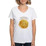 Love Blinchiki! Women's V-Neck T-Shirt