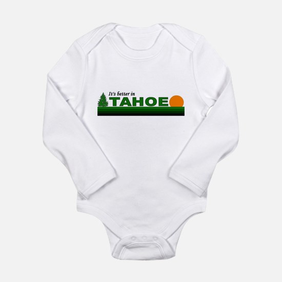 Cute Tahoe Long Sleeve Infant Bodysuit