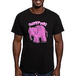 Pkurim? Smoke? Men's Fitted T-Shirt (dark)