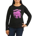 Pkurim? Smoke? Women's Long Sleeve Dark T-Shirt