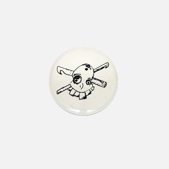 Hook Pirate Mini Button