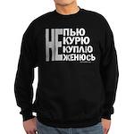 Better than Vodka no worse Sweatshirt (dark)