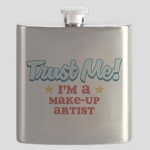 Trust Me Make-up Artist Flask