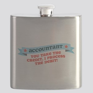 you take the credit I process the debit Flask