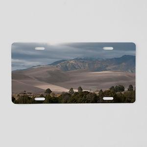 Sangre de Cristo Mountains Aluminum License Plate