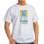 Pit Bull Dogs are Family Light T-Shirt