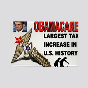 OBAMACARE SCREW Rectangle Magnet