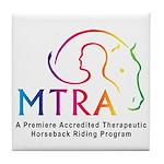 MTRA Rainbow Logo Tile Coaster