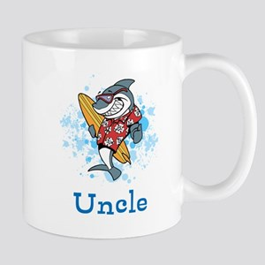 Uncle Cartoon. Custom Text. Mug