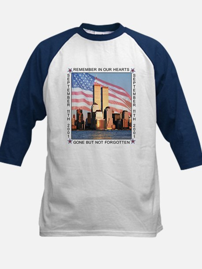 9/11 memorial Kids Baseball Jersey