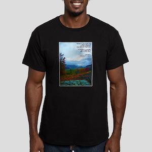 James 4:14 Men's Fitted T-Shirt (dark)