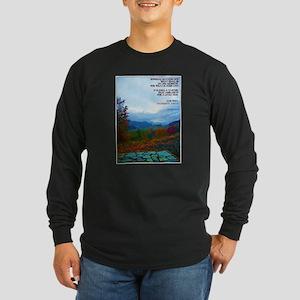 James 4:14 Long Sleeve Dark T-Shirt