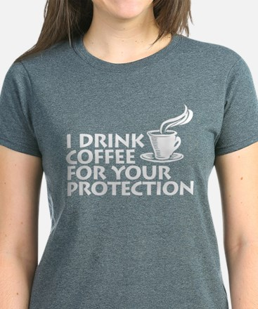 for your protection Women's Dark T-Shirt
