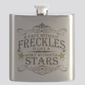 A Face Without Freckles Flask