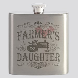 farmer-white-distress Flask