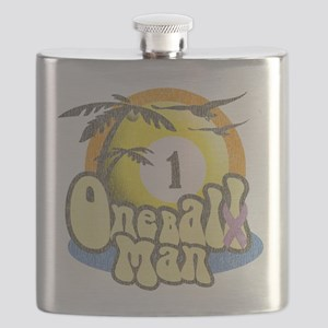 One Balll Man Darks Flask