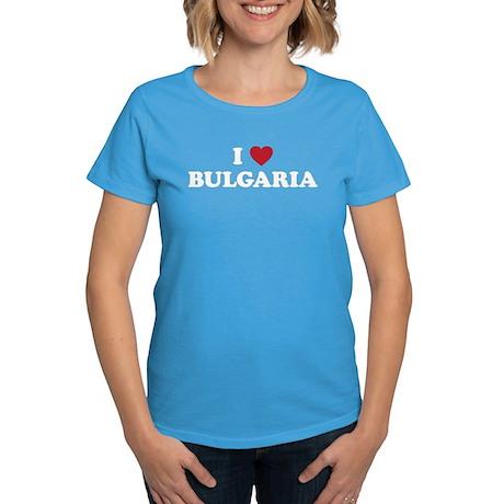I Love Bulgaria Women's Dark T-Shirt