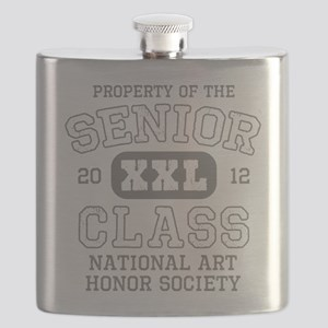 Property Of National Art Honor Society Flask