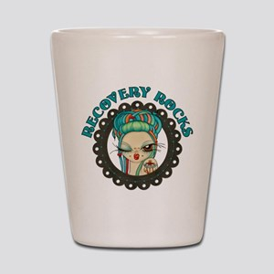 Recovery Rocks~2000x2000 Shot Glass
