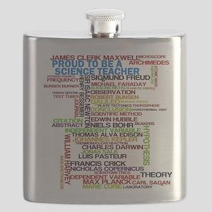 Proud Science Teacher Flask