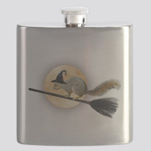 Witch Squirrel Flask