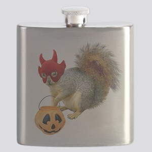 Trick or Treat Squirrel Flask