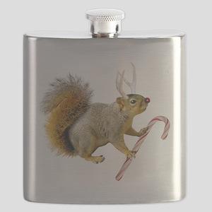 Reindeer Squirrel Flask
