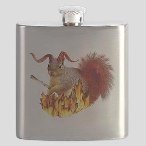 krampus squirrel4 Flask