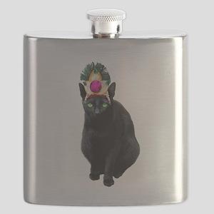 queen catFo2 Flask
