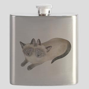 Siamese Twins Flask