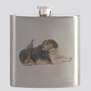 Quail Dog Flask