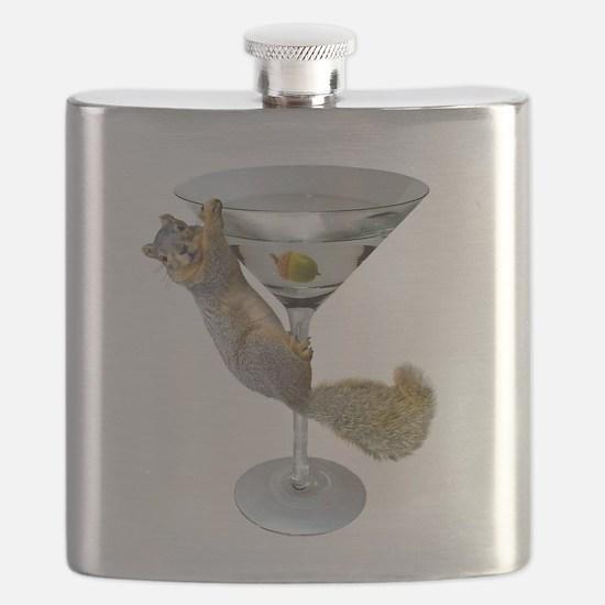 Martini Squirrel Flask