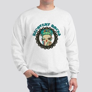 Recovery Rocks~2000x2000 Sweatshirt
