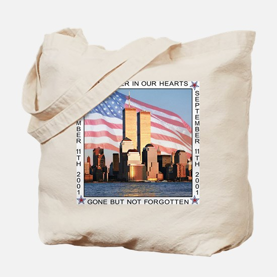 Tribute to 9-11-01 Tote Bag