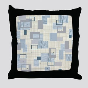 Makanahele Mid Century Modern Throw Pillow