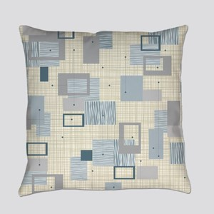 Makanahele Mid Century Modern Everyday Pillow