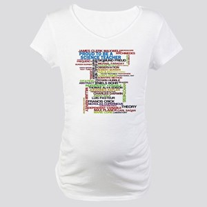 Proud Science Teacher Maternity T-Shirt