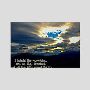 Jeremiah 4:24 Rectangle Magnet