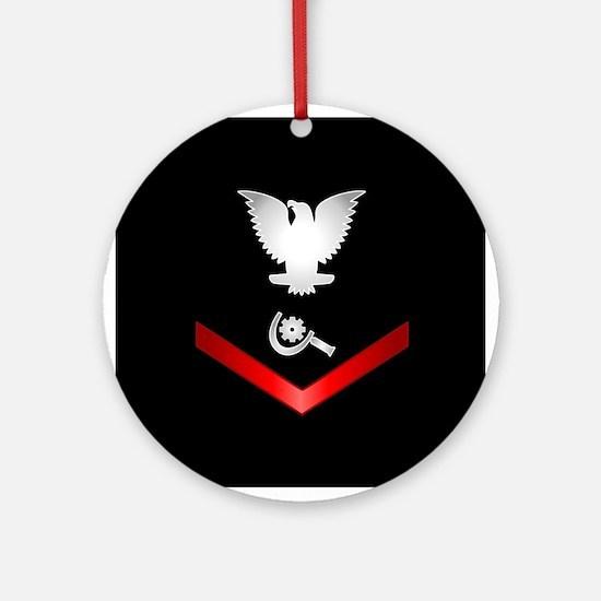 Navy PO3 Machinery Repairman Ornament (Round)