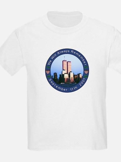 Tribute to 9/11 Kids T-Shirt