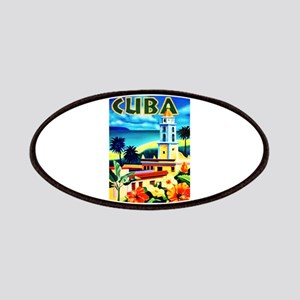 Cuba Travel Poster 6 Patches